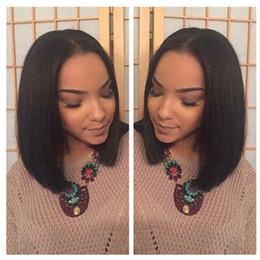 Short Bob Wigs For Black Women Brazilian Full Lace Human Hair Bob Wigs Glueless Short Full Lace Front Human Hair Wigs