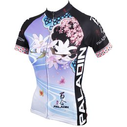 Cycling Jersey 2016 PALADIN Colorful Lily Skinny Cycling Jersey Sets Anti UV Specialized Cycling Jersey Flowers Pro Female Cycling Clothing