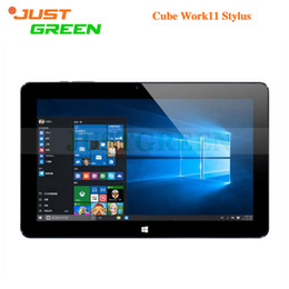Wholesale 2016 NEW best Cube iwork11 Stylus Tablet PC Windows10 Inch Intel Atom x5 Z8300 Quad Core GB GB Rom Bluetooth