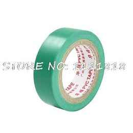 Wholesale Green PVC Adhesive Insulating Electrical Tape Roll M x CM