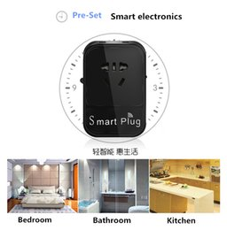 Wholesale New Portable smart plug Free APP Wi Fi Home Offices Automatic Smart Wireless Intelligent Power Socket and usb ports