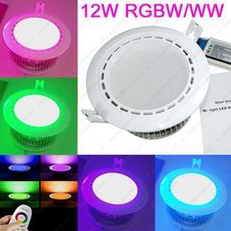 Wholesale AC85 V Mi light G W RGB White RGBW or RGB Warm White RGBWW WiFi Compatible Smart LED Downlight Aluminum with Driver