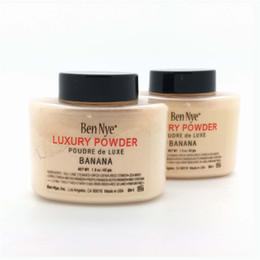 Wholesale 2016 BEN NYE LUXURY POWDER Banana g Loose Powder Concealer Whitening Face Luxury Powder Waterproof Ben Nye Makeup DHL Free Shippng