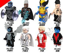 Wholesale PG8019 Marvel Avengers Super Heroes X Men Minifigure Daken Magneto Arch Angel Wolverine Nightcrawler Apocalypse Storm Toys