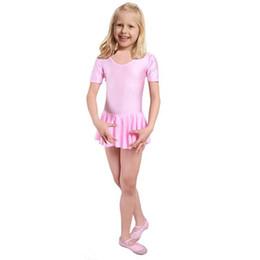 Wholesale School Class Girls Ballet Dress For Children Girl Dance Clothing Kids Ballet Costumes For Girls Dance Leotard Girl Dancewear