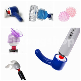 Wholesale Accessories Head Cap Magic Wand Hitachi Full Body Massager Vibrator Attachment