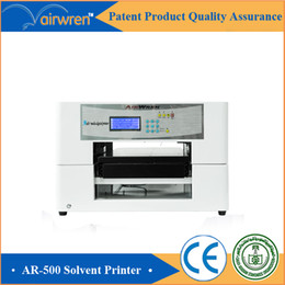 Wholesale 2016 new product digital eco solvent pen printing machine automatic flatbed printer for Haiwn hot sale