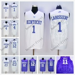 Wholesale Kentucky Wildcats College Jersey Skal Labissiere Rajon Rondo John Wall Jersey Towns Anthony Davis Jerseys