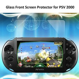 Wholesale New Clear HD PSV Full Body Tempered Glass Front With Back Flim Protector Skin Cover For Sony PS Vita Screen Protect Flim