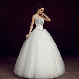 Wholesale Joy square new Qi to new wedding dress in the summer of the bride s shoulders contracted with a thin veil of shoulder