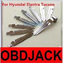 Folding key blanks For Hyundai Elantra and Tucson Car key embryo replacing the key head NO.101