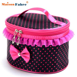 Wholesale Attractive HOT Colors Portable Travel Toiletry Makeup Cosmetic Bag Organizer Holder Handbag J6