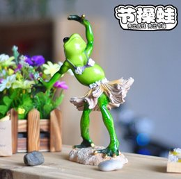 Wholesale Exquisite home decoration gift dance frog personalized gift crafts decorations