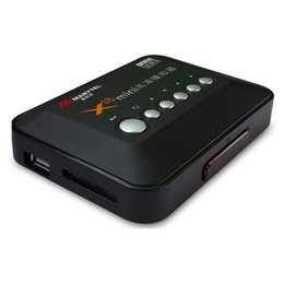 Wholesale MANYTEL Full Hd Media Player RMVB RM MKV AVI VOB Hdd player P Hd Media Player