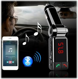 Car Wireless Bluetoth Kit Music Audio Player Full Frequency FM Transmitter BT Hands Free With USB Charger