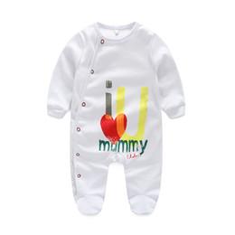 Baby Pajamas girls Baby clothes Newborn clothes Long Sleeve Underwear Cotton Pajamas Baby Boys Girls Autumn clothing