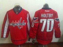 Wholesale 2016 New Brand Men s Washington Capitals holtby red Jersey Ice Hockey Jerseys Best Quality Low Price