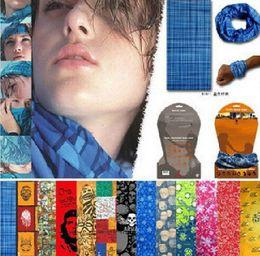 PromotionTop Fashion Multifunctional scarf Outdoor Cycling Seamless bandana Magic multifunctional Turban Sunscreen Hot Hair band Hot Selling