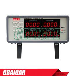 UTE1010B Uni-t Digital Power Meter true rms Power Factor Analyzer 0..1W ~ 3000W