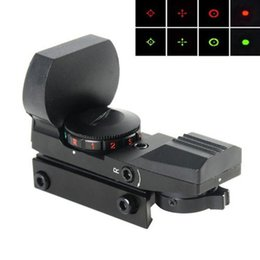 Wholesale BZ400 Reticle Electro Red Green Dot Sight Tactical Reflex Sight Rifle Scope with Mount for Airsoft Gun