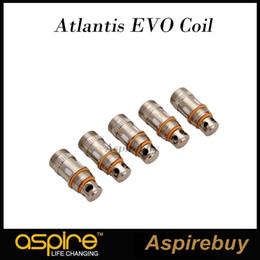Aspire Atlantis EVO Replacement Coil 0.4 ohm & 0.5 ohm Clapton Coils For Aspire Alalantis EVO Tank Denser Vapor 100% Original