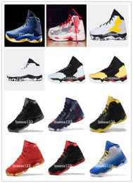 Wholesale All Colors Stephen Curry Monkey King Hoop Nation Blue Red Midnight Navy White Elite Men Basketball Sneakers Shoe