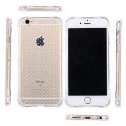 Cas transparents pour iphone 4s à vendre-Case TPU pour iPhone 7 plus 6 6s 5 5s SE 4 4S claires Transparent Airbag Anti Frappez Goutte Cover Résistance