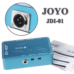 Wholesale Electronic DI Box Passive Direct Box Amp Simulation Violao Guitarra Guitar Effect Pedal JOYO JDI for Musical Instrument