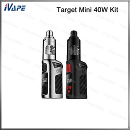 Wholesale 100 Original Vaporesso Target Mini W TC Starter Kit mah ml Target Mini Mod Battery With Guardian Tank CCELL MTL Coil