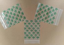 Wholesale 7 cm Ziplock Packing Bags Herb Reclosable Bag Zip Lock Bag Poly Bag Baggies Plastic Zippy