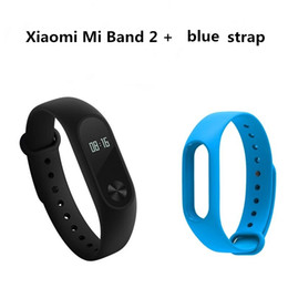 Wholesale In Stock Original Xiaomi Mi Band OLED Screen Touch Operation New Bracelet Better Algorithm Pulse Heart Rate IP67 days