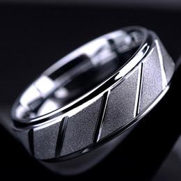 2017 regalos para los amigos BC joyería de moda 8 mm de ancho plateado de acero inoxidable motociclista dedo medio helado anillo para hombres mujeres regalo amigo BC-234 barato regalos para los amigos