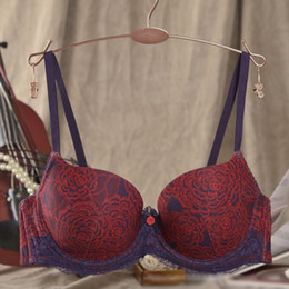Wholesale Padded Balconette Bra With Pocket Padded Balcony Bra With Pad Inserts