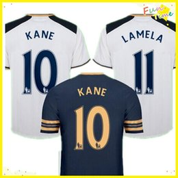 Wholesale DHL Tottenhaming Uniforms Kit CHIRICHES Kane Lamela YEDLIN Soccer Jersey Mason Home White Jerseys