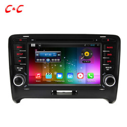 Wholesale Quad Core Android Car DVD Player for Audi TT with Radio GPS Navi Wifi DVR Mirror Link BT X600 Free Gifts
