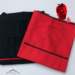 1PC Hairdressing cloth Barber cape hair salon Hairdresser work clothes Cutting Capes tools Haircutting Red Black