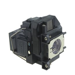 Wholesale Replacement projector lamp ELPLP67 V13H010L67 WITH HOUSING for Epson EB S12 EB W12 EX3210 EX5210 EX7210 Powerlite