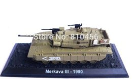 New Arrival Tank model Israel Army Merkava 3 Main Battle Tank Model High Quality Military Finished Products