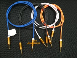 Wholesale Luxury OEM ODM male to male USB AUX car audio Cable mm Male to Male Auxiliary Audio Cables for MP3 MP4