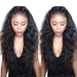 Wholesale Water Wave Lace Front Wig Wet and Wavy Human Hair Lace Front Wig Full Lace Wig Glueless Peruvian Beyonce Lace Front Wigs
