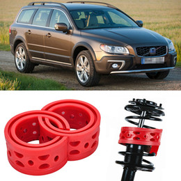 Free shipping 2pcs Super Power Rear Auto Shock Spring Bumper Power Cushion Buffer Special For Volvo XC70