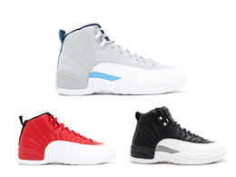 New Red white 12s High quality XII basket Cheap mens shoes sports trainers Outdoor athletic sneaker mens baketball shoes Gym Red 12