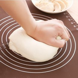 Wholesale Japan Silicone Baking Chopping board insulation pad Soft Rolling Pastry Boards Kneading Pad Dough Mat x40cm