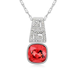 Austrian crystal necklace - Exclusive Memory-colours