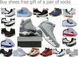Wholesale Khaki Colour Sports Shoes - Newest Basketball Shoes 29 Colours Retro IX 9 Suede Men Basketball Sport Footwear Sneakers Trainers Shoes 4-5-6-7-8-9-10-11-12-13-14