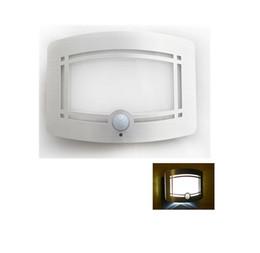 Mini LED Blanc Chaud Intelligent Infrarouge PIR Auto Motion Sensor Night Light Corps humain Induction Couloir Passageway Balcon Cabinet Cabinet à partir de placards blancs fabricateur