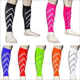 Wholesale Compression Leg Sleeve Outdoor Training Socks Sports Running Socks Pair Calf Support Basketball Football Socks Leg Guardsstill Socks B835