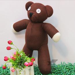Wholesale Cute Mr Bean TEDDY BEAR Stuffed Plush teddy bear toy Fashion plush doll Best Gift For Children cm EMS Shipping