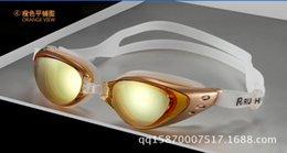 2017 marcos de carreras BFFA30 Anti-niebla Impermeable Racing Nadar gafas de natación gafas ajustables galjanoplastia gafas ópticas Gran marco gafas de nadar miópico descuento marcos de carreras