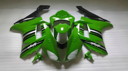 Fairing kit for KAWASAKI Ninja ZX6R 07 08 ZX6R 636 2007 2008 zx6r 07 08 green black Fairings set
